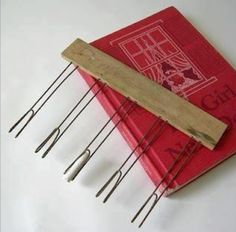 Do you remember this? From music class. Chalk holders.