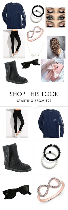"""Twilight 4"" by lddance2002 on Polyvore featuring UGG Australia, Lokai, Ray-Ban and Anne Sisteron"