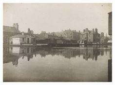 View of Port Hopetoun, Union Canal, showing Hopetoun House Luxury Wedding Venues, Our Town, Edinburgh Scotland, House, Home, Haus, Houses, Homes