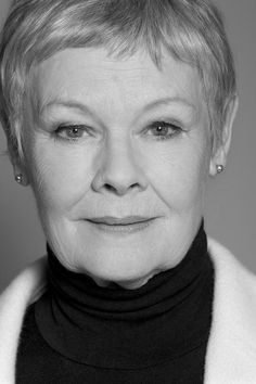 Dame Judi Dench-wonderful in every role! Hooray For Hollywood, Hollywood Stars, James Bond, Divas, Judi Dench, Actrices Hollywood, Great Women, Portraits, British Actors