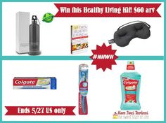 #colgatetotal #NWHW womens health prize giveaway