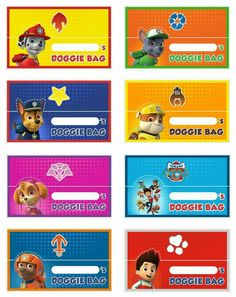 "Free Printable Paw Patrol Food Labels - Invitation Templates DesignSearch Results for ""free printable paw patrol food labels"" – Invitation Templates 4th Birthday Parties, 3rd Birthday, Birthday Ideas, Paw Patrol Invitations, Party Invitations Kids, Cumple Paw Patrol, Paw Patrol Birthday, Puppy Party, Party Bags"