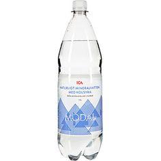 ICA Kolsyrat vatten. Tyvärr inte speciellt gott eller tillräckligt med kolsyra enligt min smak. 1/5