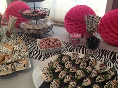 Maddy's Zebra Party Bash