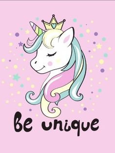 Find Beautiful Unicorn Head Inscription Be Unique stock images in HD and millions of other royalty-free stock photos, illustrations and vectors in the Shutterstock collection. Unicorn Quotes, Unicorn Images, Unicorn Pictures, Pictures Of Unicorns, Unicorn Painting, Unicorn Drawing, Unicorn Head, Unicorn Art, Kawaii Drawings