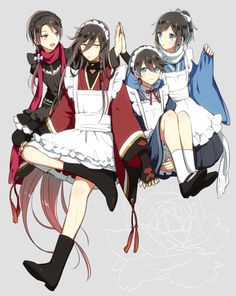 ToukenRanbu [Render] by YukishiroSheinPussia on DeviantArt Fan Anime, Anime Guys, Anime Male, Touken Ranbu, Mai Waifu, Otaku, Manga Boy, Cute Gay, Animes Wallpapers