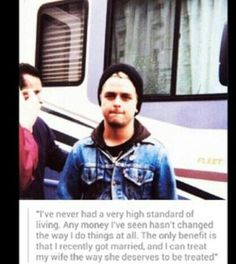 This is the sweetest thing ever. If only there were more guys like Billie Joe..