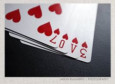 Love Heart Photography  Deck of cards Girls room by JRuggieroPhoto, $11.00