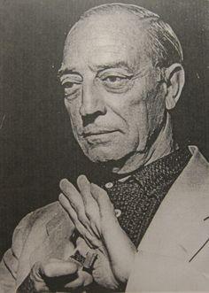 Buster Keaton, genial old man.