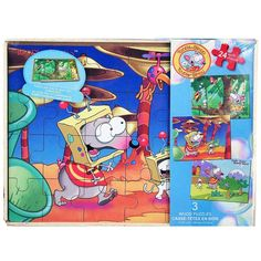 Toopy and Binoo Wood Puzzle Box Set