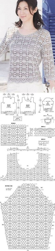 Связать ажурный пуловер [] #<br/> # #Crochet #Tops,<br/> # #Knitting,<br/> # #Jersey,<br/> # #Pullover,<br/> # #Facebook,<br/> # #Blusas #Tejidas,<br/> # #Jacket,<br/> # #Dresses,<br/> # #T-shirt<br/>