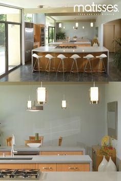 Una cocina moderna minimalista que inspira frescura.