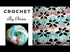 Crochet flowers stitch by Oana - YouTube