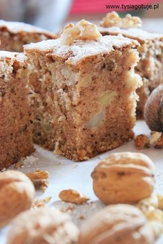 Apple Cake Recipes, Food Cakes, Antipasto, Banana Bread, Sweet Tooth, Muffin, Good Food, Food And Drink, Cooking Recipes