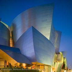Walt Disney Concert Hall - Los Angeles // Photographer - Weldon Brewster