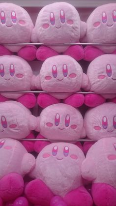 Daily Photo of Japan: Encountered aesthetic and Kirby in their natural environment. Kawaii Plush, Cute Plush, Baby Pink Aesthetic, Aesthetic Pics, Poses References, Pokemon, Kawaii Room, Cute Stuffed Animals, Creepy Cute