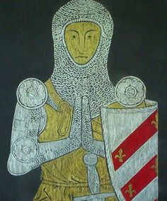Brass Rubbing of medieval knight Sir William by wondersofbritain, $59.95