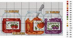 Cross Stitch Fruit, Cross Stitch Boards, Cross Stitch Kitchen, Cross Stitch Flowers, Cross Stitching, Cross Stitch Embroidery, Cross Stitch Patterns, Hand Embroidery, Cross Designs