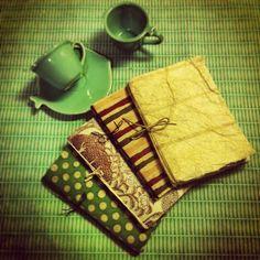 Set Quadernetti carta naturale