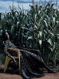 Glamour Berbere Model: Mariana Calazans Photographer: Zee Nunes Fashion Editor: Pedro Sales Beauty: Silvio Giorgio