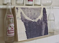 How To Transfer A Photo To Wood! www.abeautifulmess.com