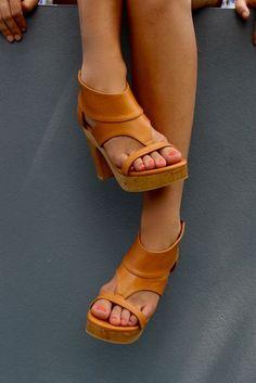 Mia sandal - vintage tan / south of the border