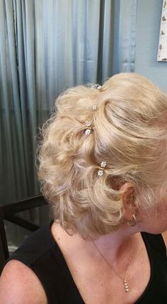 Mother of the Bride, hairstyle by Melony Terry