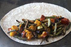 ... quesadilla roasted asparagus mushroom and tomato quesadilla manchego