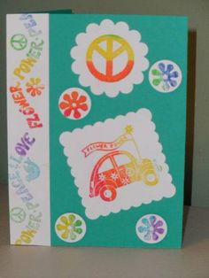 """Stampin' Up!  Retired Set """"GROOVY""""."""