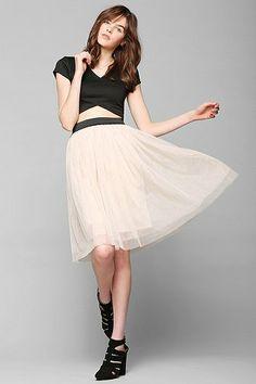 Pins And Needles Ballerina Tulle Skirt