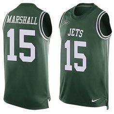 ... Large Nfl nike chicago bears brandon marshall 15 on field jersey mens  44 sewn Brandon marshall 06bad78a9