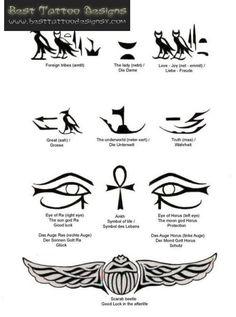 Pin Egyptian Tattoos Best Tattoo Designs And Ideas On Pinterest