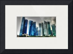 """""""New Urban Landscape Singapore """" by Blue Sentral Photography, Singapore // New Urban Landscape Singapore 2013 // Imagekind.com -- Buy stunning fine art prints, framed prints and canvas prints directly from independent working artists and photographers."""