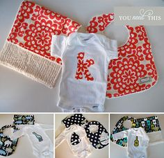 Sweet baby gift sets