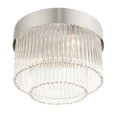 Everly Quinn Hoban 4 - Light 13.25'' Drum/Cylinder Flush Mount Shade Color: Brushed Nickel