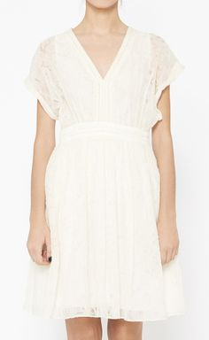 Christian Cota Cream Dress