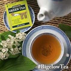 Bigelow's organic green tea is the first and only tea I've tried so far from this brand, but it is definitely one of my favorites. So earthy and full-flavored. I'd love to try their other varieties!