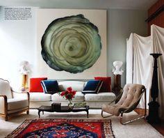Large art. Splendid Sass: ROBERT COUTURIER ~ DESIGN IN MANHATTAN