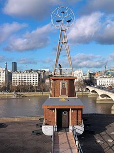 A one-room installation on the roof of Southbank in collaboration with artist Fiona Banner.