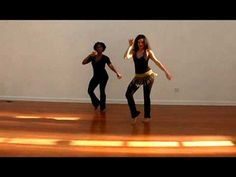 ▶ SAMBA RIO STYLE BASIC MOVE, PART 3 of 3: HIP BRAZIL DANCE SHOW WITH VANESSA ISAAC - YouTube
