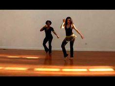 SAMBA RIO STYLE BASIC MOVE, PART 3 of 3: HIP BRAZIL DANCE SHOW WITH VANE...
