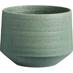 Free Shipping.  Shop helena planter.   Greenery grows happy in mid-century style.  Handmade earthenware glazed timeless teal with earthy flecks of brown seed an organic vibe.