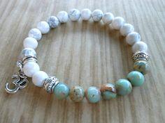African Opal Mala Bracelet Healing & Balancing Mala