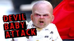 'Devil Baby' Surprises Pedestrians in New York City-Not promoting this at all but this video is HYSTERICAL!!!