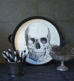 """Tete de Mort Guirlande /""""Skeleton/"""" 3 m HALLOWEEN raumdekoration Partydeko Solde"""