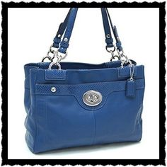 ✯ RARE Color ✯Coach Penelope Leather Carryall F16531. Starting at $74