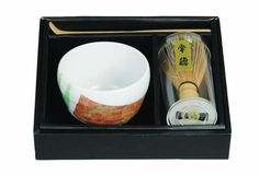 Thee Kop Matcha 10x7.5cmh w/B.Beater&Sp. / The Oriental Shop