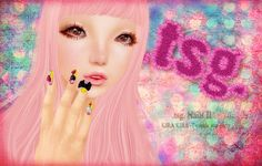 .tsg. Nails II@KIRA KIRA -Twinkle star party - rica Andel