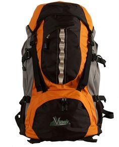 Victory Outdoors Cross Country 60-Liter Backpack, Orange >> You can get additional details, click the image : Best hiking backpack
