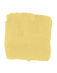 """""""It's one of those spaces that people go through quickly, so you can  afford a higher level of drama. Often, there's not natural light, so you need a heavily saturated color like this warm, yolky yellow. Get it in full gloss because the gloss gives it depth, and it's much simpler to apply than glazing."""" -Christopher Drake Pictured, Benjamin Moore's Showtime 923   - HouseBeautiful.com"""